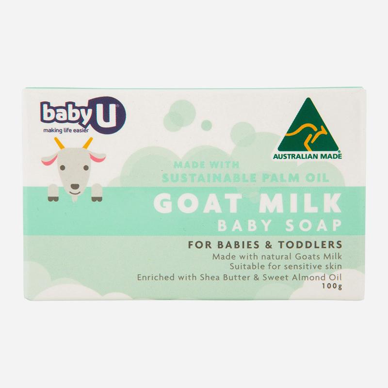 Baby Care U goat milk Baby Care soap 100g