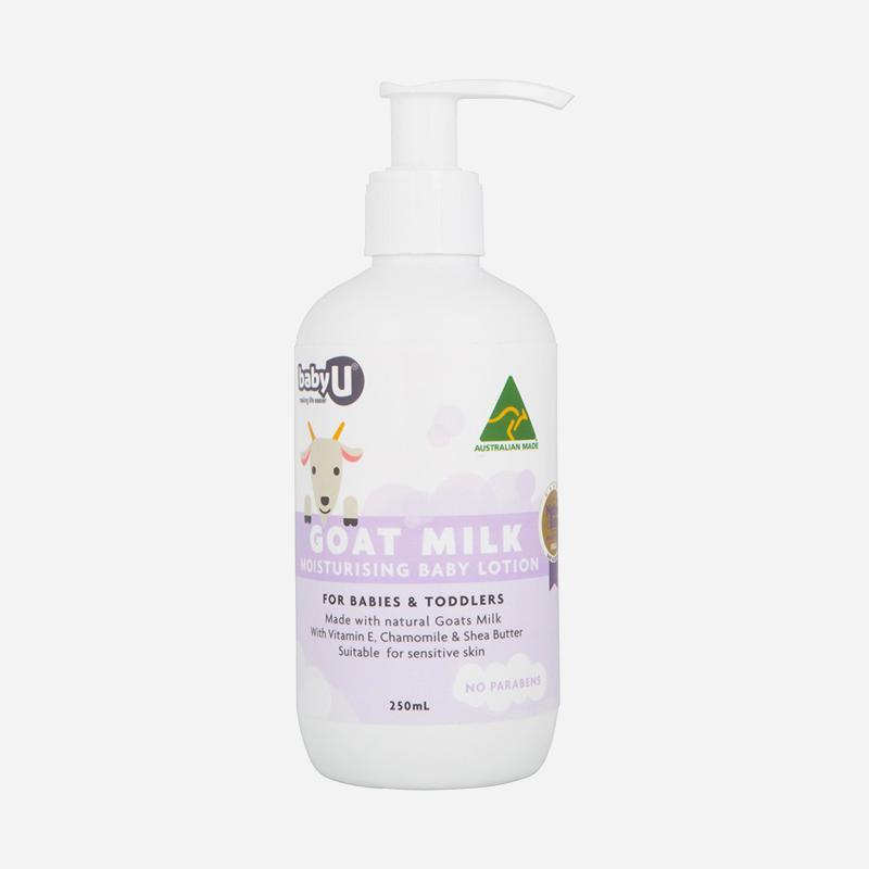Baby Care U goat milk moisturing Baby Care cream 250ml