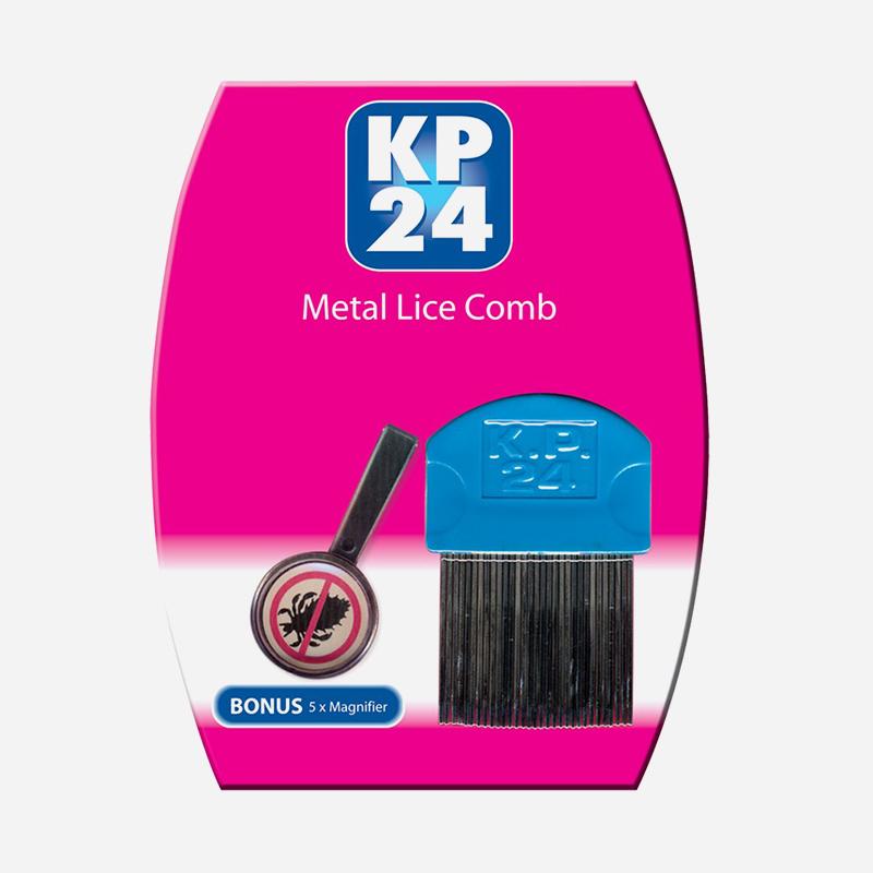 KP24 Metal Tooth Comb