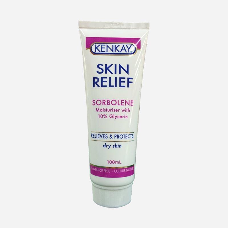 Kenkay Skin Relief Sorbolene with 10percent Glycerin Tube 100mL