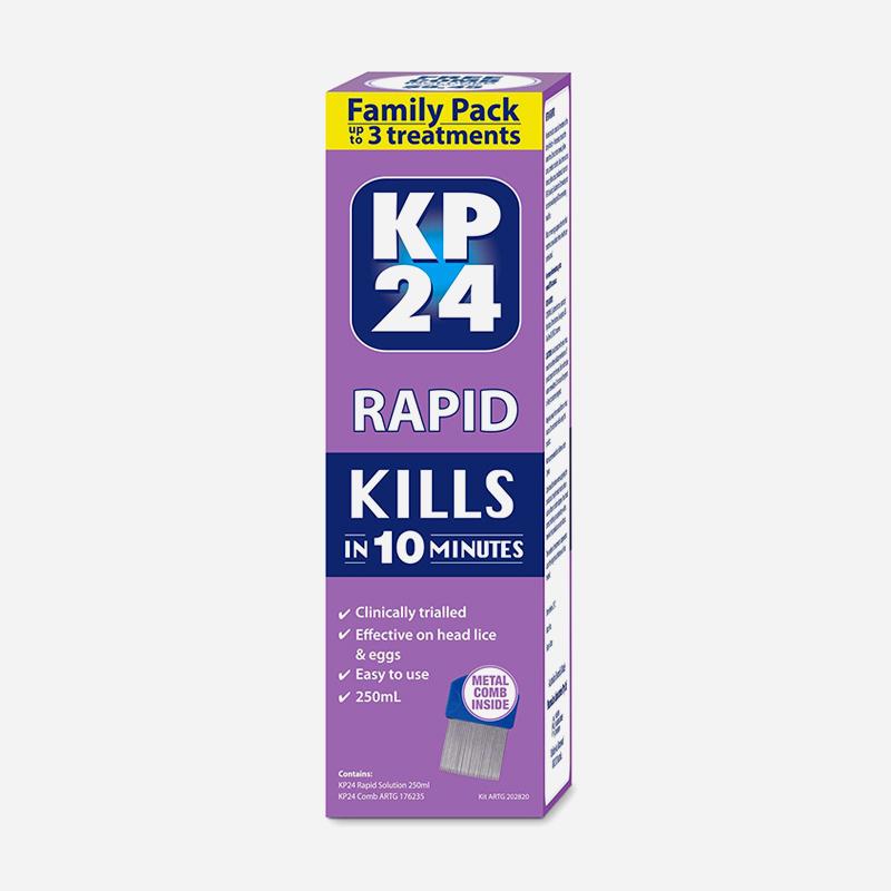 Kp24 rapid family pack 250ml