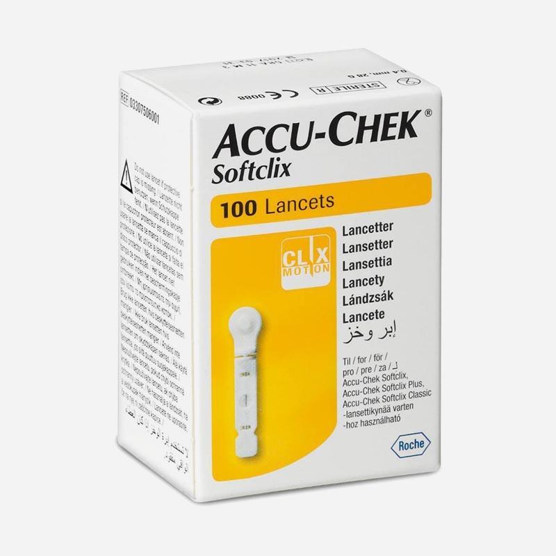 accu-check softclix lancets 100 pack