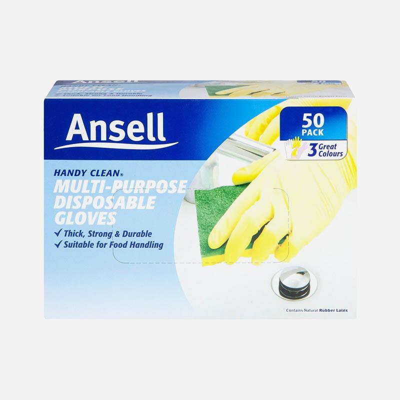 ansell multi purpose gloves 50 pack