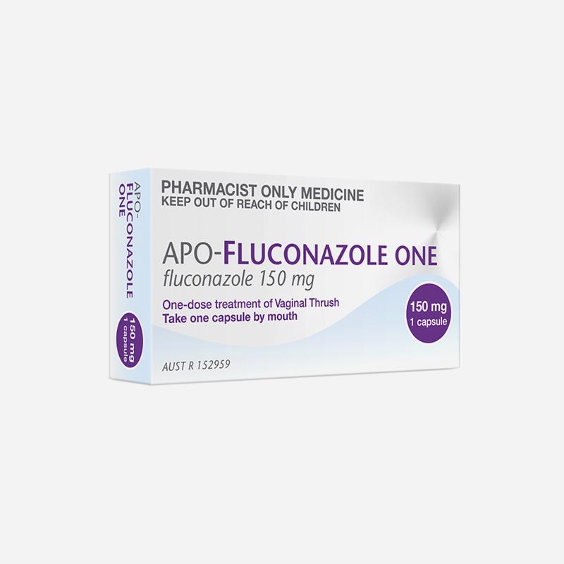 apo-fluconazole 150mg 1 capsule