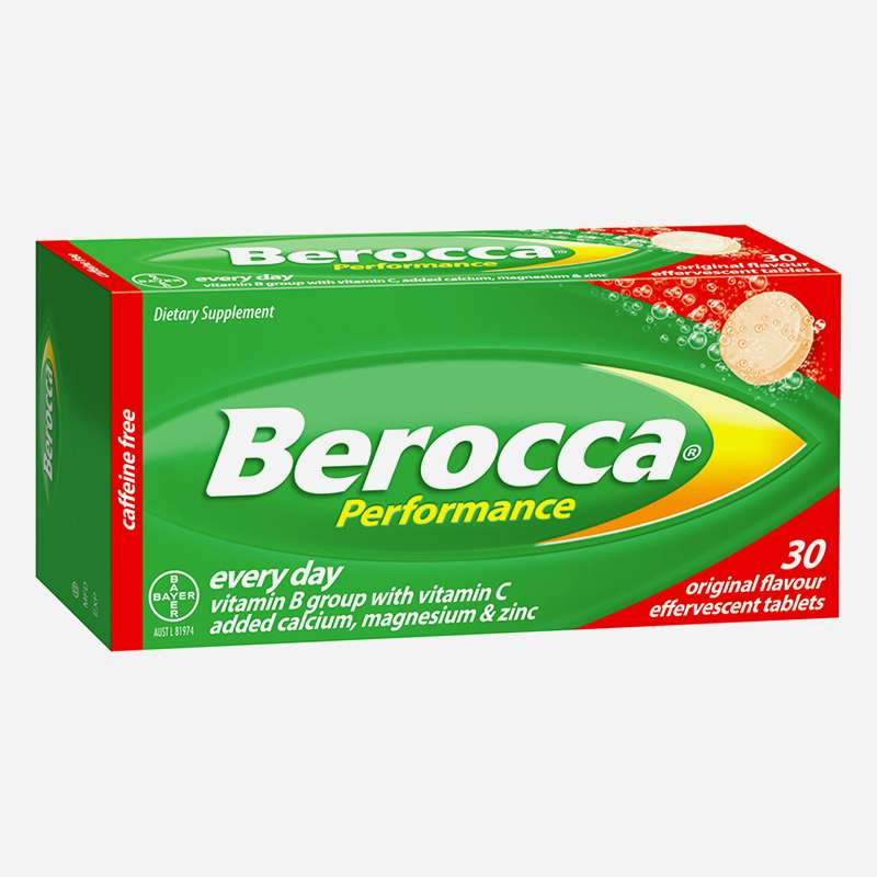 berocca performance original effervescent tablets 30
