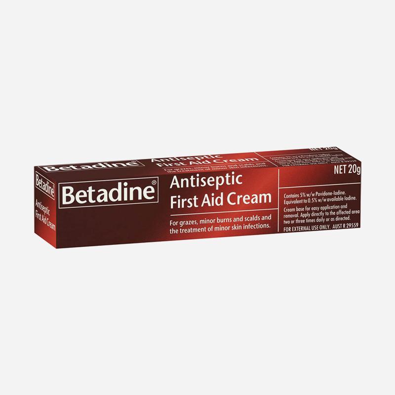 betadine antiseptic cream 20g