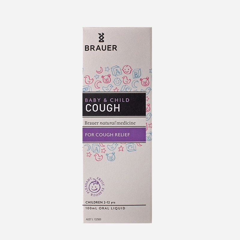 brauer Baby Care and child cough relief 100ml