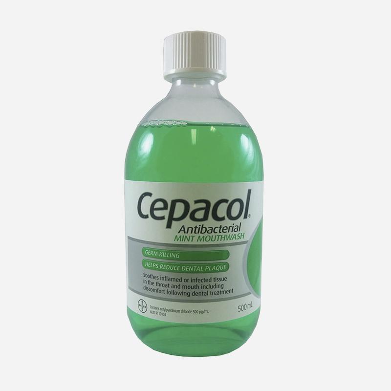 cepacol antibacterial solution 500ml