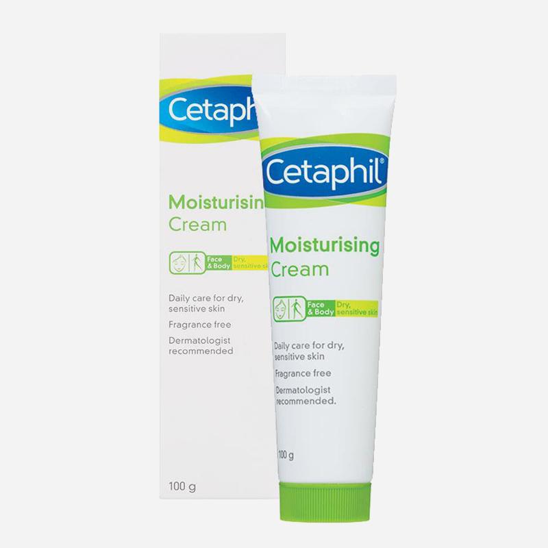 cetaphil moisturising cream 100g tube