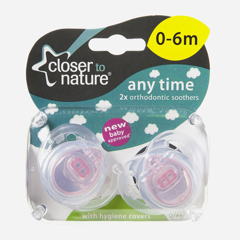 closer to nature anytime soother 0-6 months