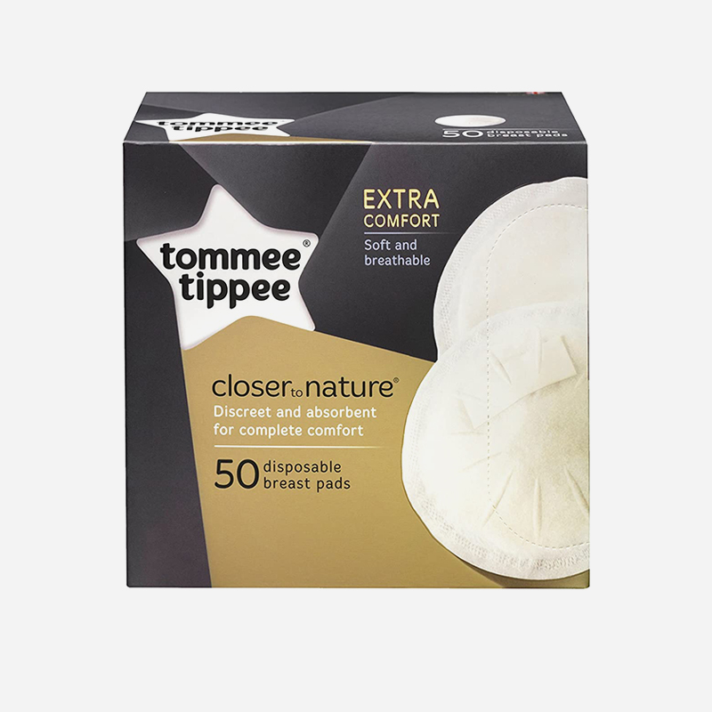 closer to nature disposable breast pads 50 pack