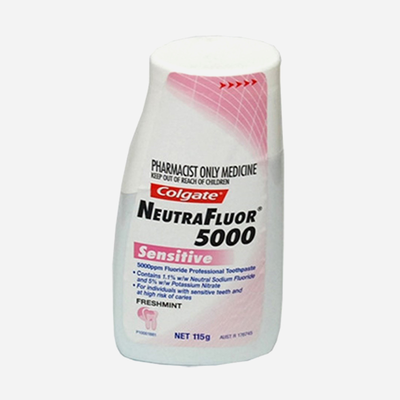 colgate neutra flour 5000 for sensitive teeth 115g