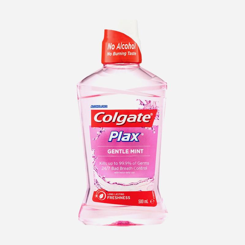 colgate plax gentle mint 500ml