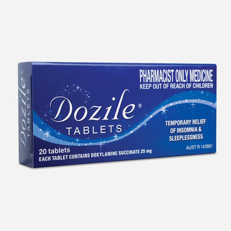 dozile 25mg 20 tablets