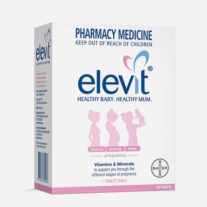 elevit tablets 100