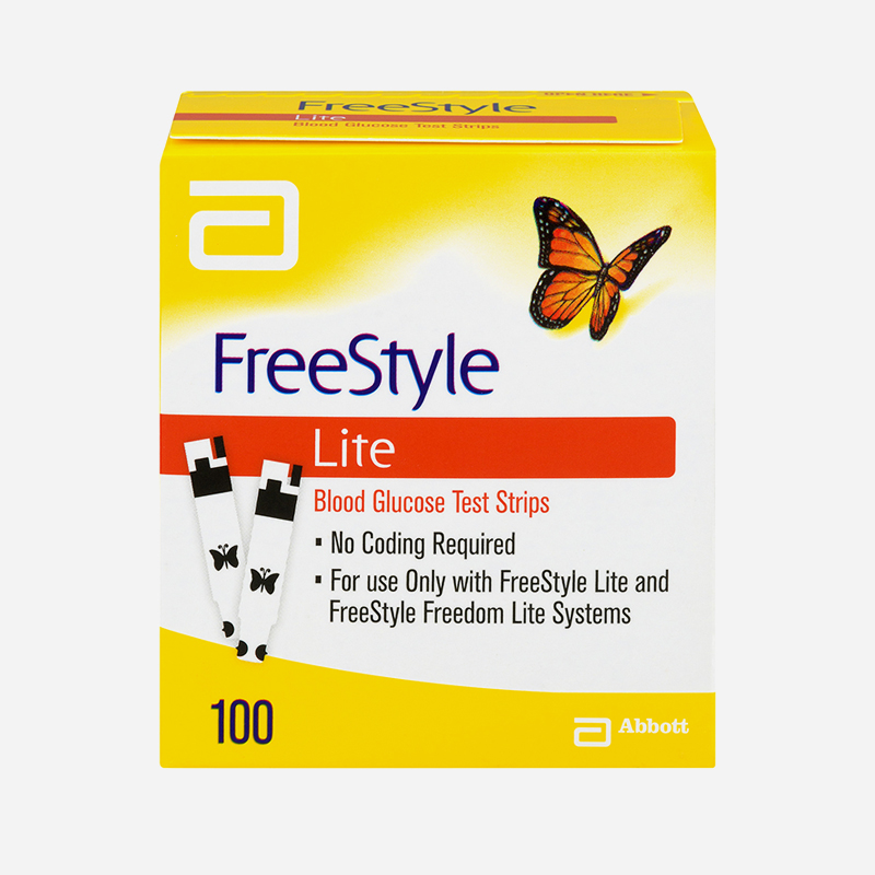 freestyle lite strips 100 pack