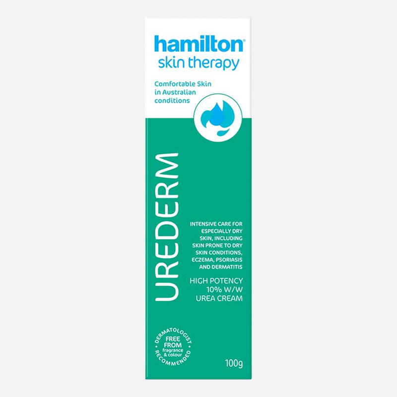 hamilton urederm cream 10percent 100g