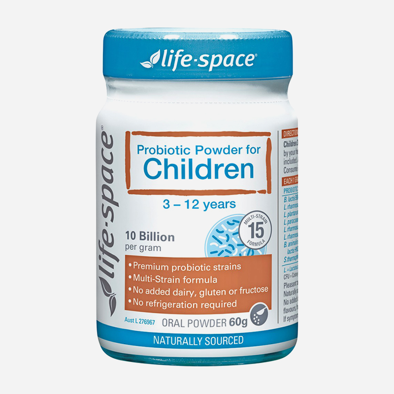 lifespace probiotic powder for children 3-12 years 60g