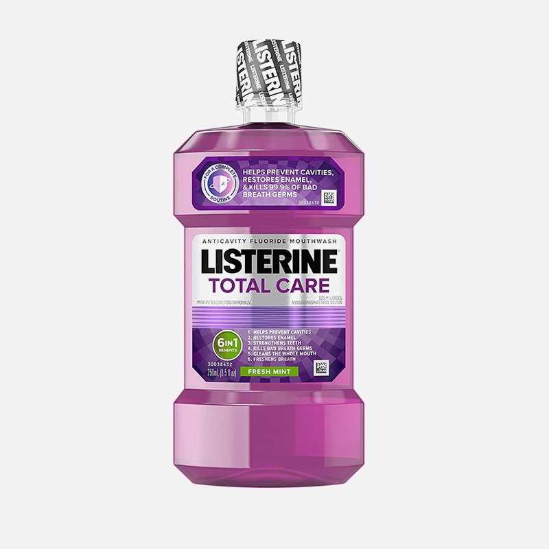 listerine total care 6in1 250ml