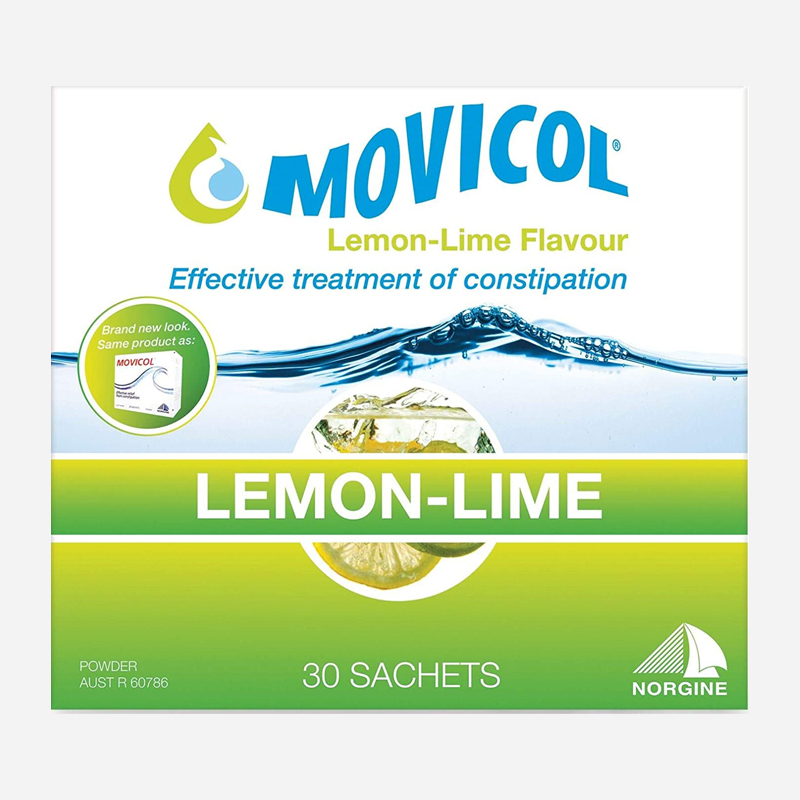 movicol lemon-lime flavour 30 sachets