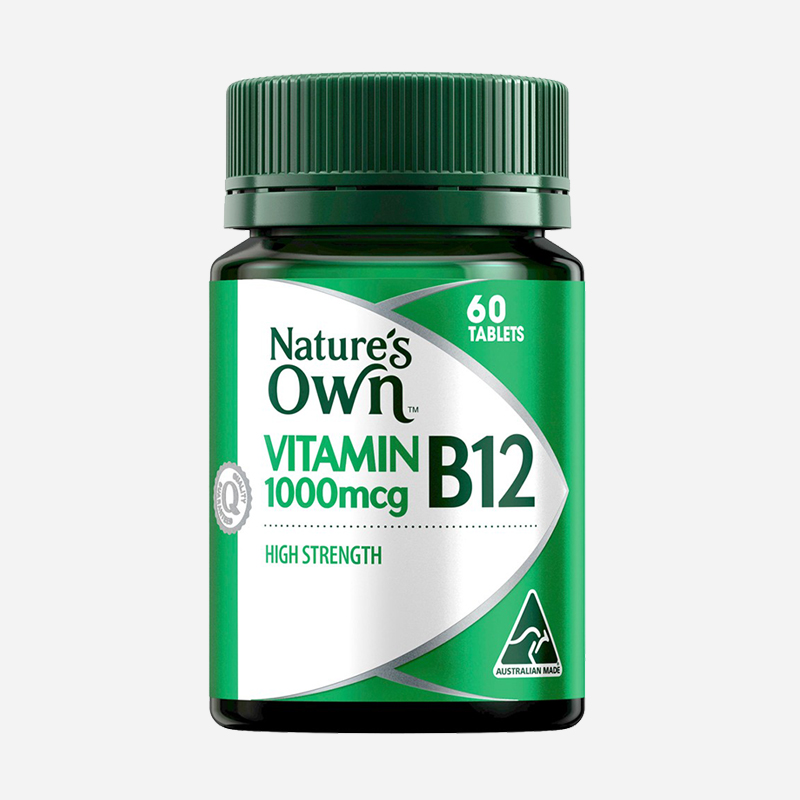 natures own Vitamins B12 1000mcg 60 tablets
