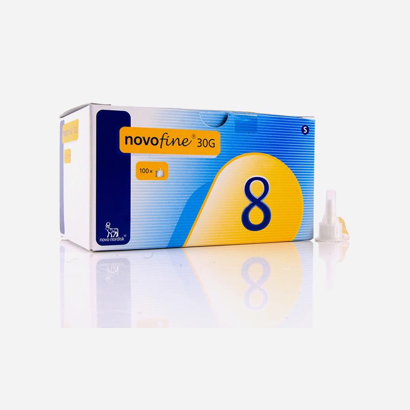 novofine needle 30 G x 8 100 pack