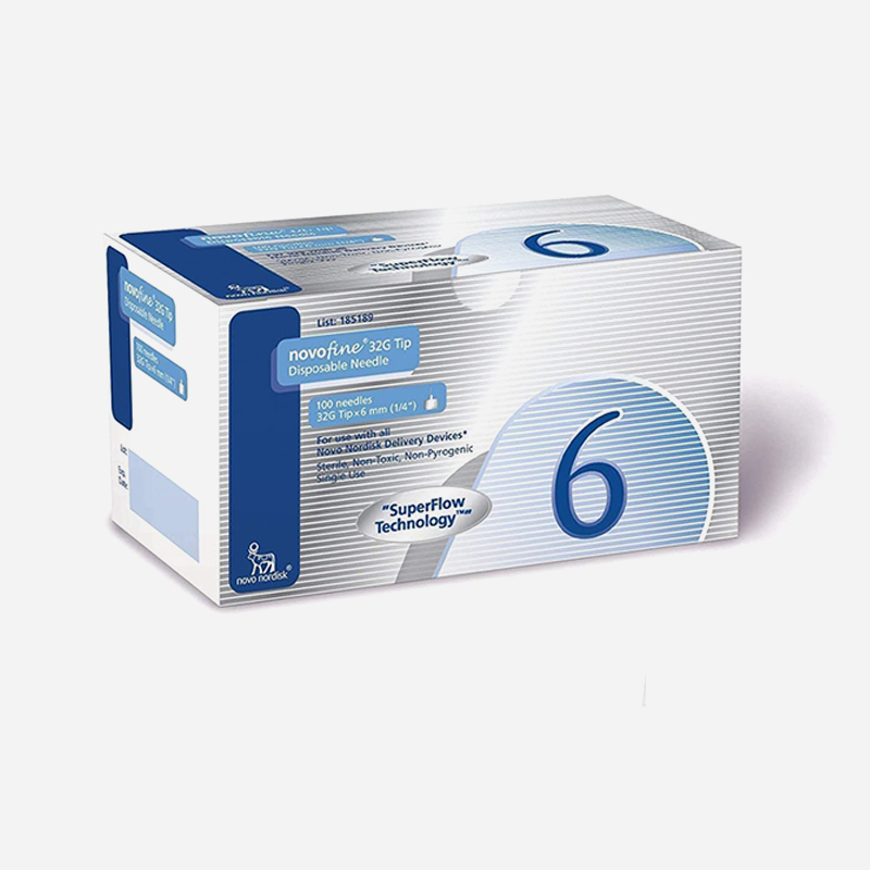 novofine needle 32 gauge 6mm 100 pack