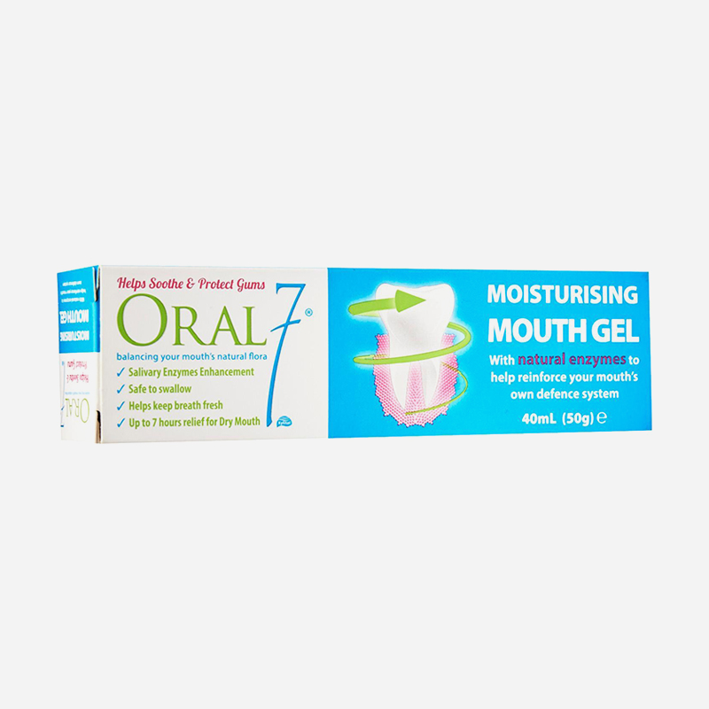 oral 7 moisturising mouth gel 50g