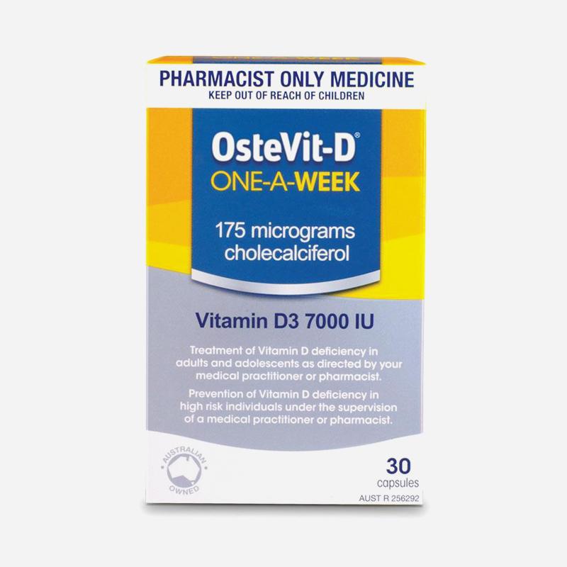 ostevit-d once a week 7000iu 30 tablets