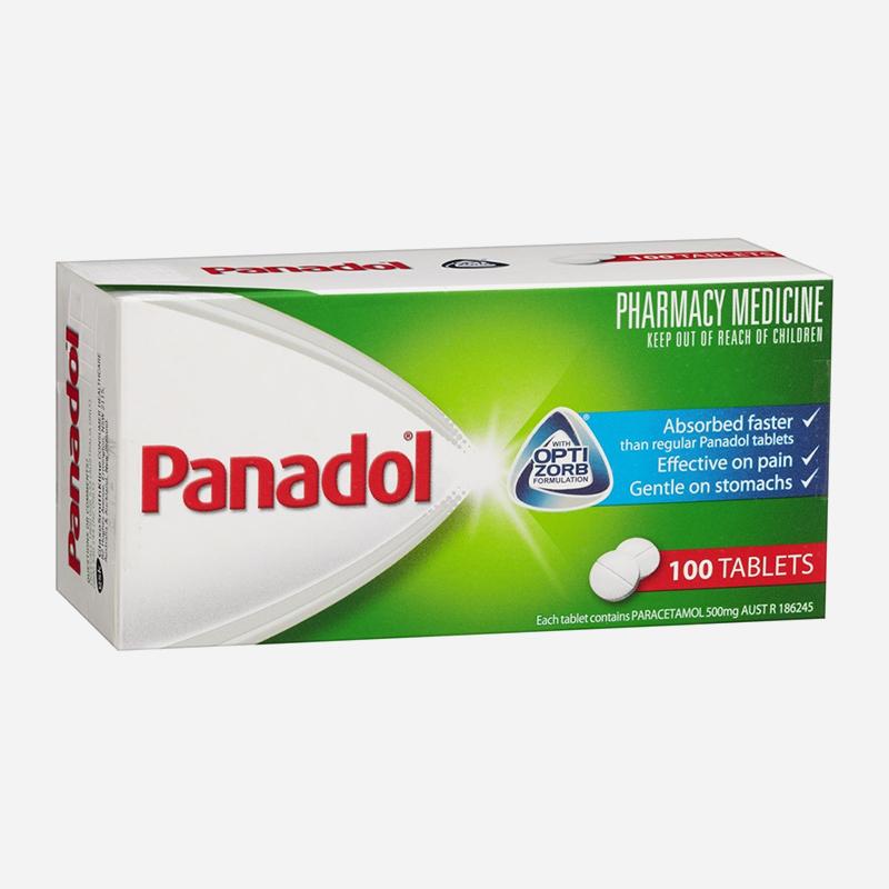 panadol 500mg optizorb tablets 100