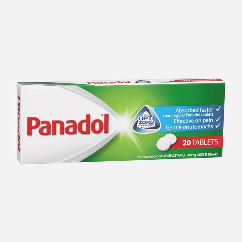 panadol 500mg optizorb tablets 20