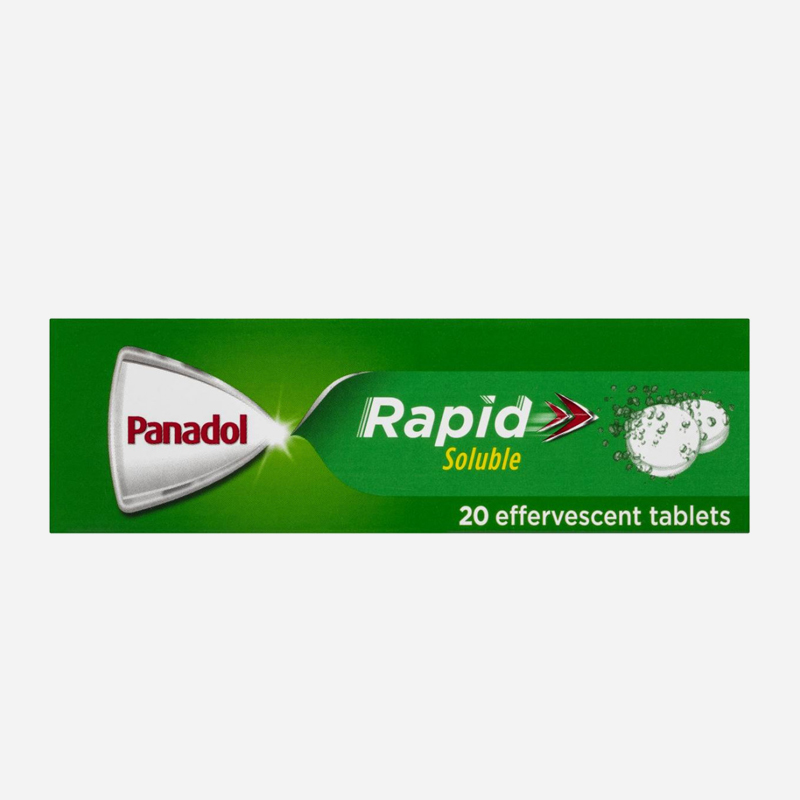 panadol rapid soluble 500mg tablets 20