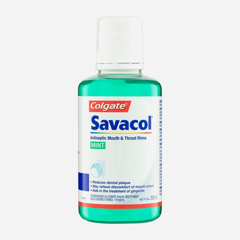savacol mouth and throat rinse 300ml