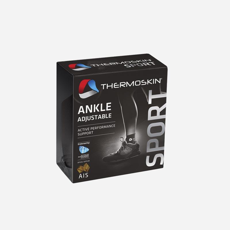 thermoskin adjustable ankle brace one size