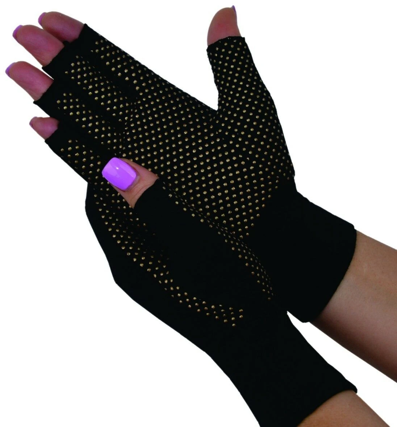 Magno Gloves Magnetic Therapy with Compression Arthritis- Medium