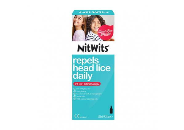 Nitwits Anti Lice Spray-125mL