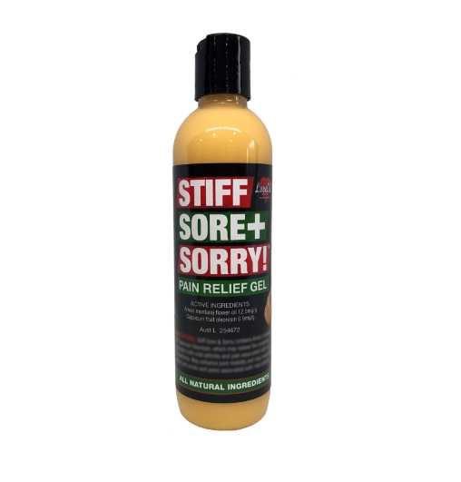 Stiff Sore + Sorry- Pain Relief Gel