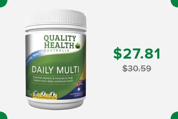 QUALITY HEALTH DAILY MULTI-VITAMINS