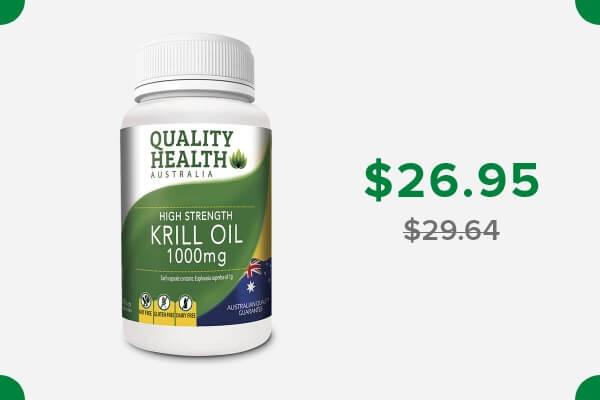 QUALITY HEALTH HIGH STRENGTH KRILL OIL