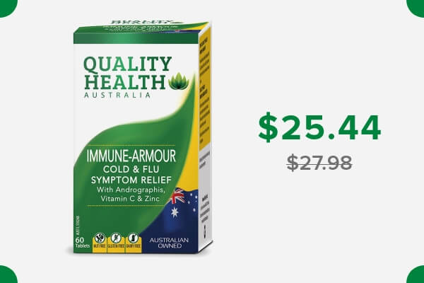 QUALITY HEALTH IMMUNE-ARMOUR COLD