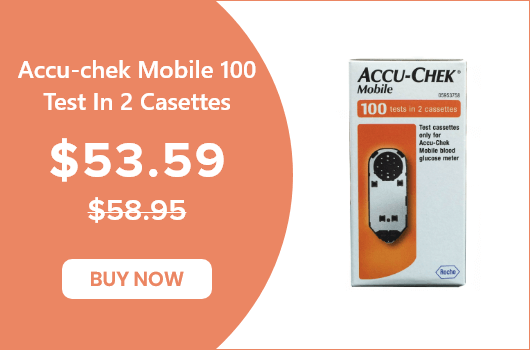 Accu Chek Mobile 100 Test in 2 Casettes