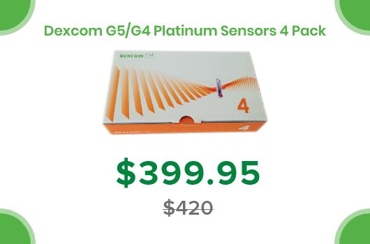 Dexcom G4 Platinum Sensors
