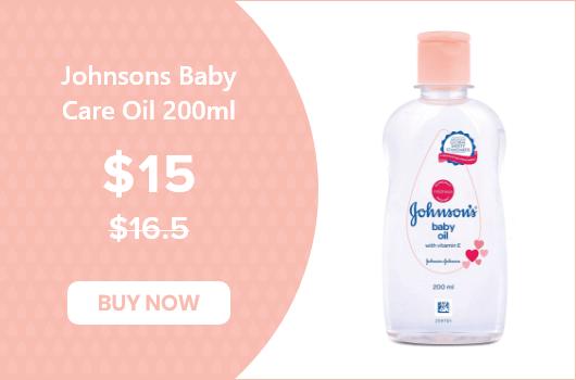 Johnsons Baby Care Oil 200ml