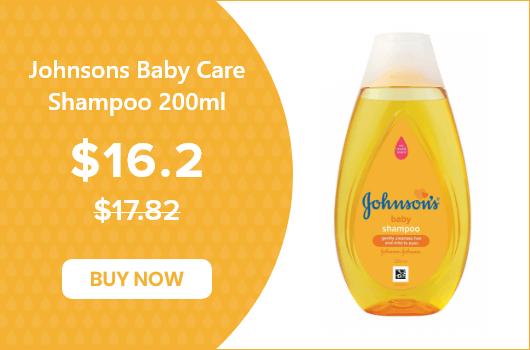 Johnsons Baby Care Shampoo 200ml