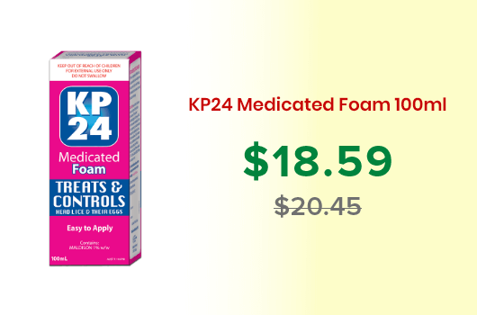 KP24 Medicated Foam