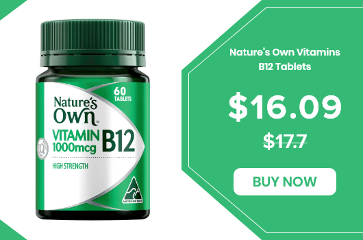Nature's Own Vitamins B12 Tablets