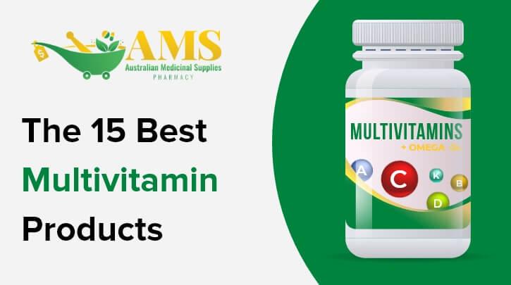 Top 15 Multivitamins